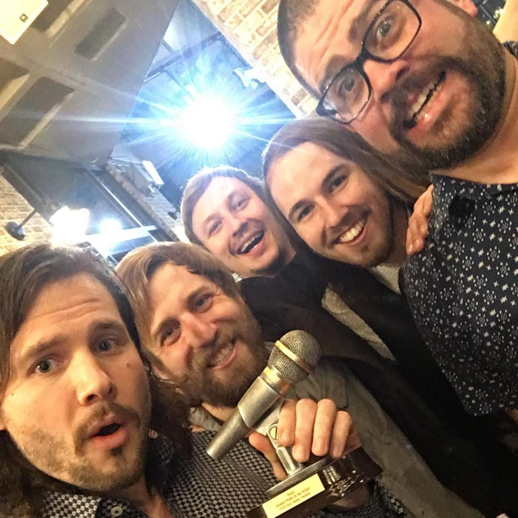 "Bennett Wales & the Relief win ""Best of Rock"" at the 2018 Veer Magazine Awards"