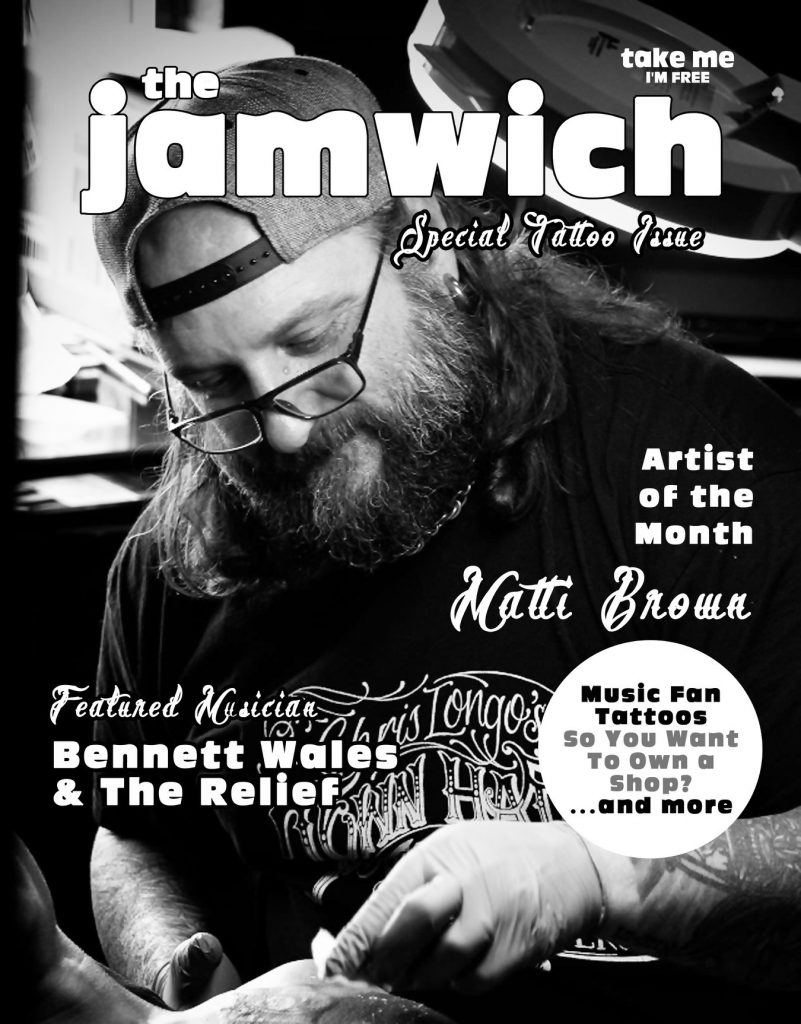 The Jamwich features Bennett Wales & the Relief in their Feb. 18 Issue