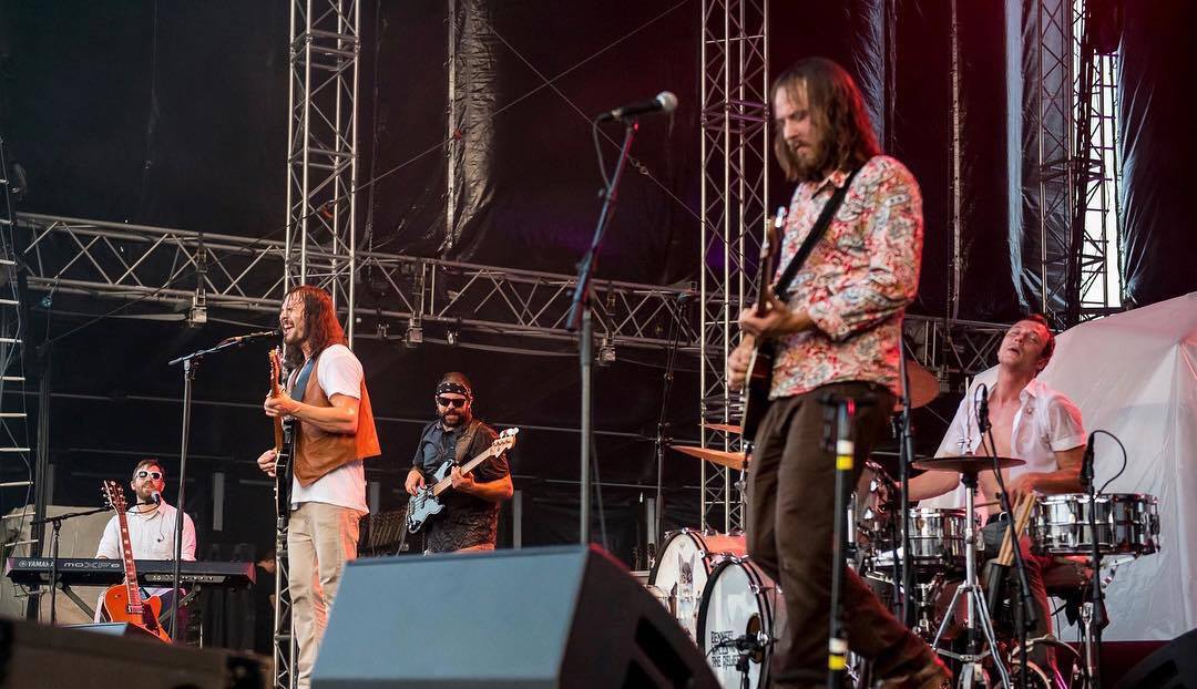 Bennett Wales & the Relief live at American Music Festival